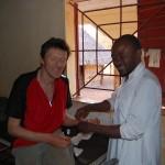 Kipaja. Verzorging na valpartij. Grand merci à Thierno, pour soins professionnels,hospitalité & amitié