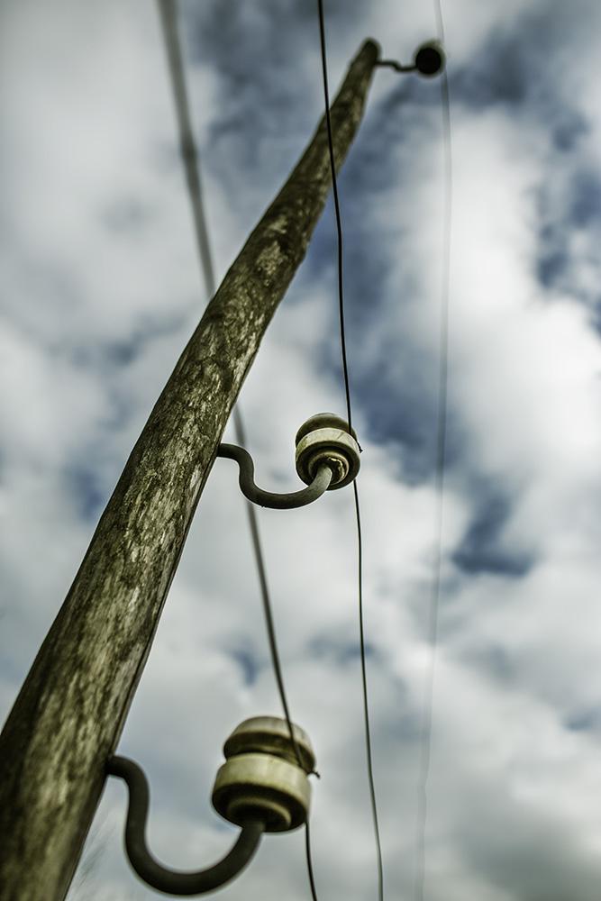 dodelijke barrière van 2.000 volt (foto Franky Verdickt)