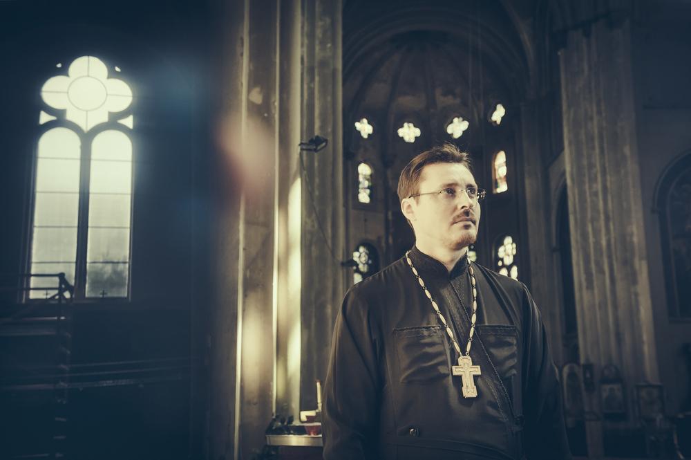 pope Andrei van de Russisch-Orthodoxe Kerk (foto: Jimmy Kets)