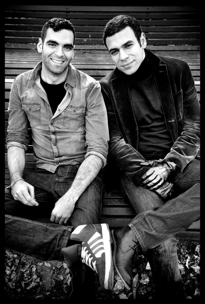 Adil El Arbi en Bilan Benyaich (foto: Saskia Vanderstichele)