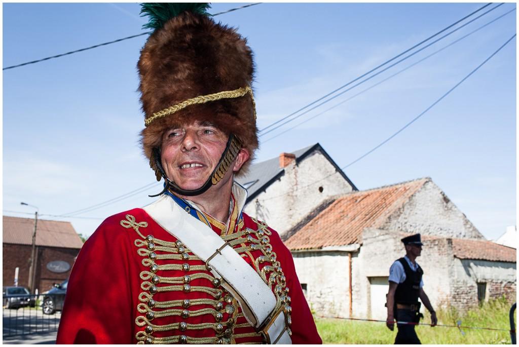 Benny Degeest, had liason van Napoleon kunnen zijn (foto: Brecht van Maele)