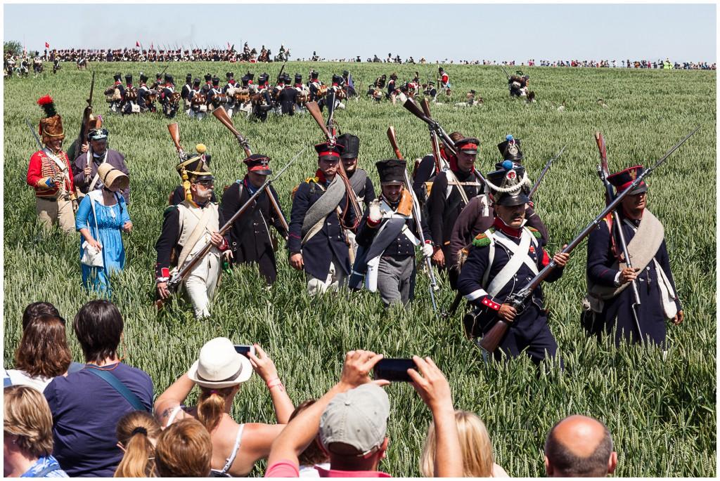 Slag bij Ligny bis, zonder afgerukte ledematen (foto: Brecht Van Maele)