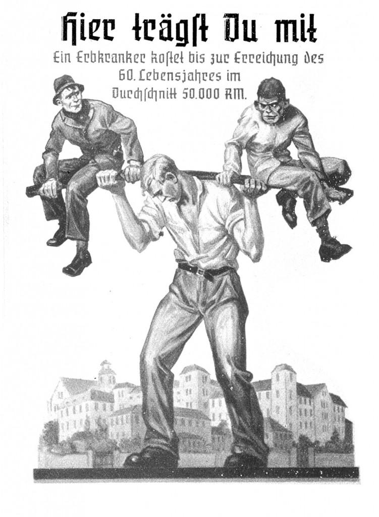 campagne tegen 'Ballastmenschen'
