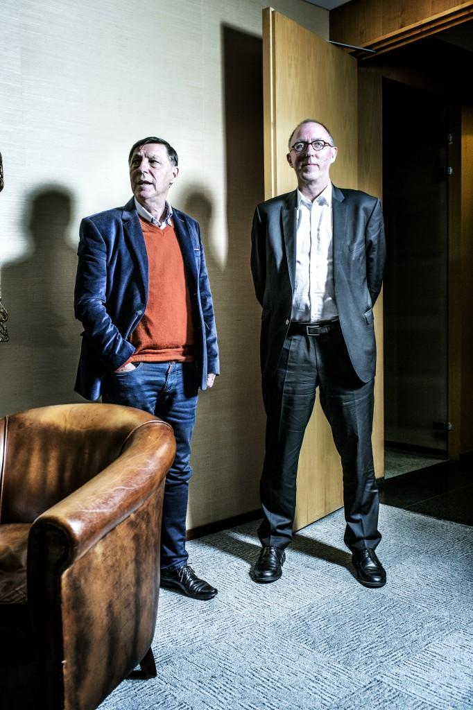 Jef Vermassen en Raf Verstraeten (foto: Franky Verdickt)