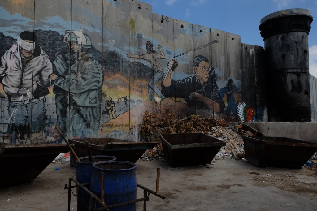 vluchtelingenkamp Aida, wereldkampioen blootstelling traangas (eigen foto)